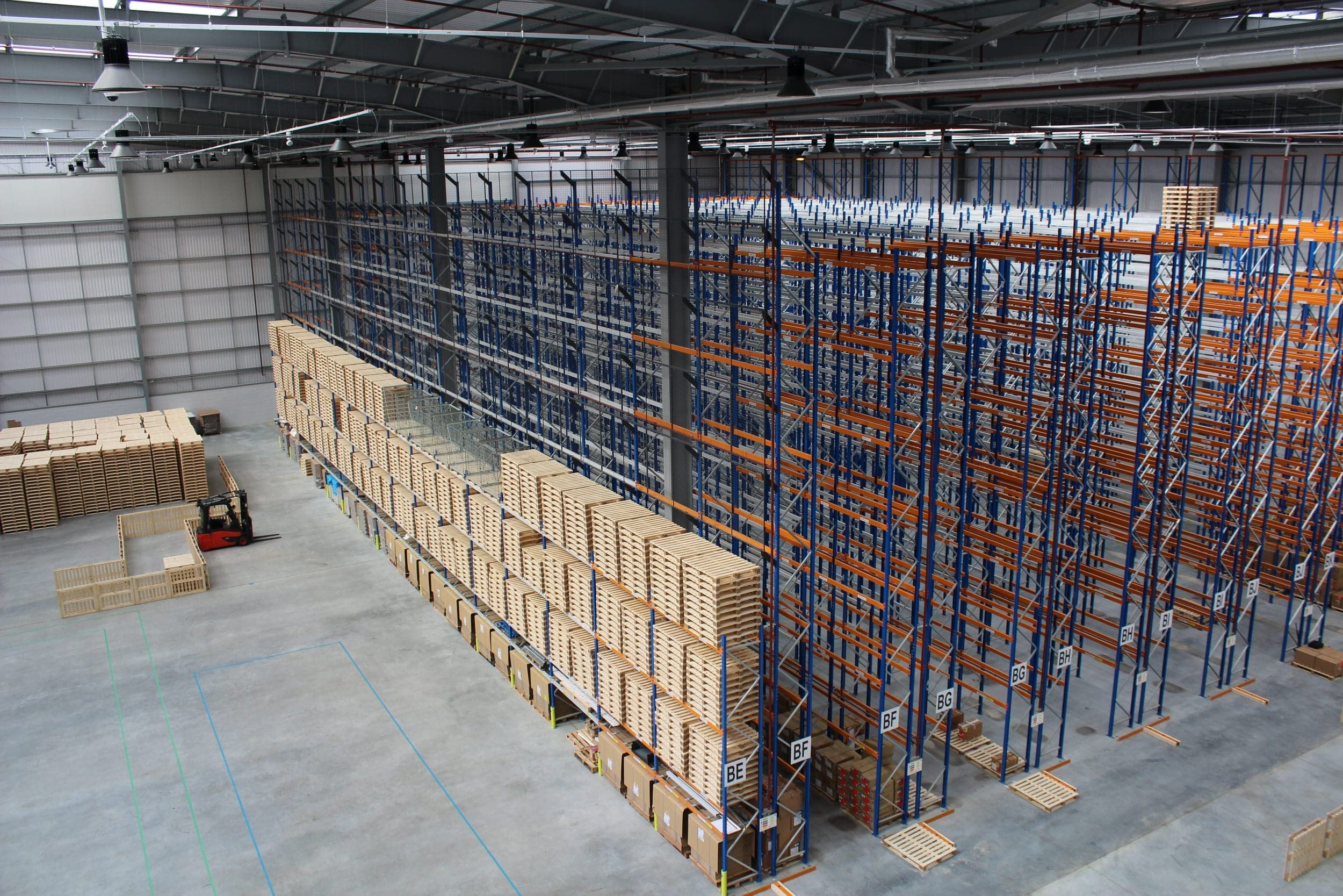 New and Used Pallet Racking Picture