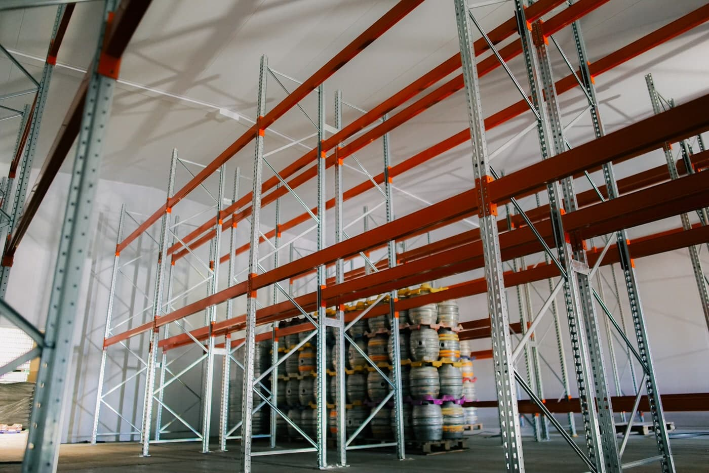 Pallet Racking Within a Chilled Storage Facility for Expanding Craft Brewing Company