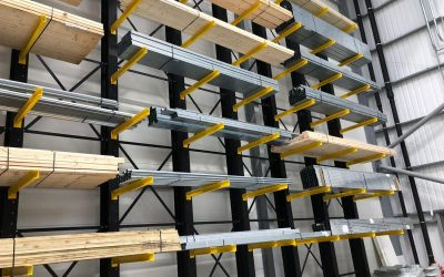 Warehouse storage solutions for none palletised goods