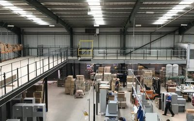 The benefits of a warehouse mezzanine floor
