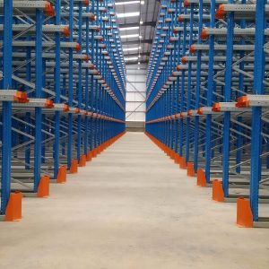 Drive in racking system for compact storage
