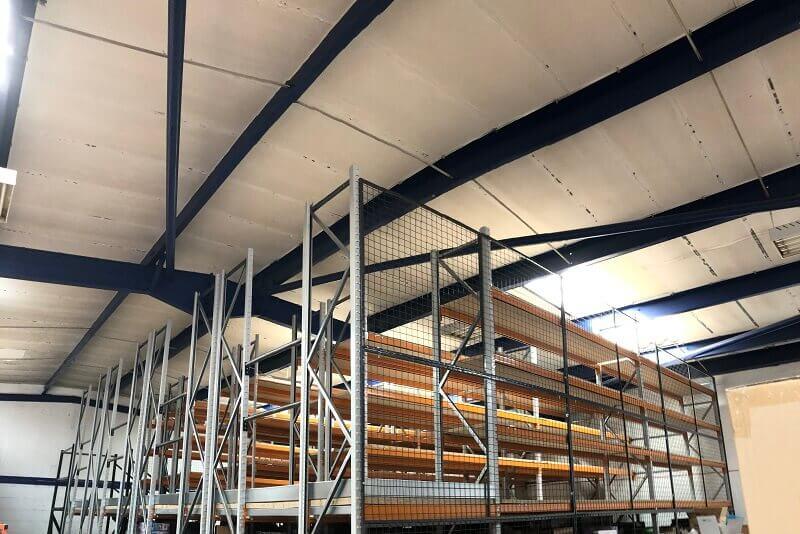 Long span multi tier shelving for an online retailer