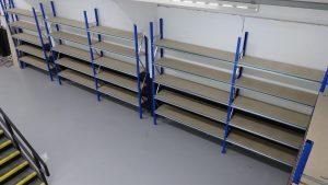 short span shelving system