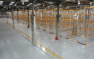 How to safeguard your warehouse and reduce costs using Guide Rails, Barriers and Bump Stops