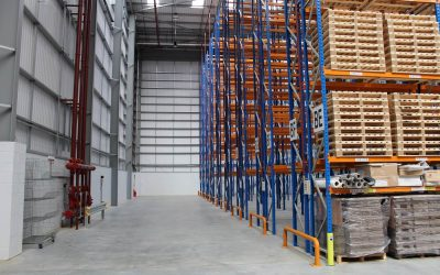 Improve functionality in your warehouse with essential pallet racking accessories