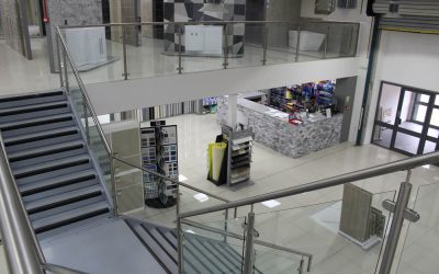 The surprise element of the retail mezzanine floor