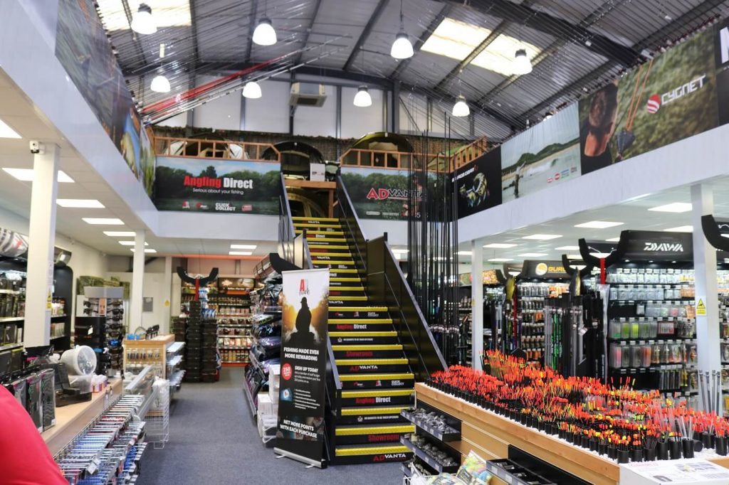 This retail mezzanine perfectly matches the unique theme and colours of the client's brand