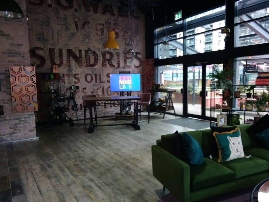 Ground floor of studio