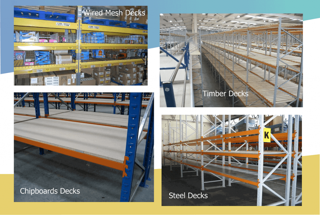 Images of different decking types