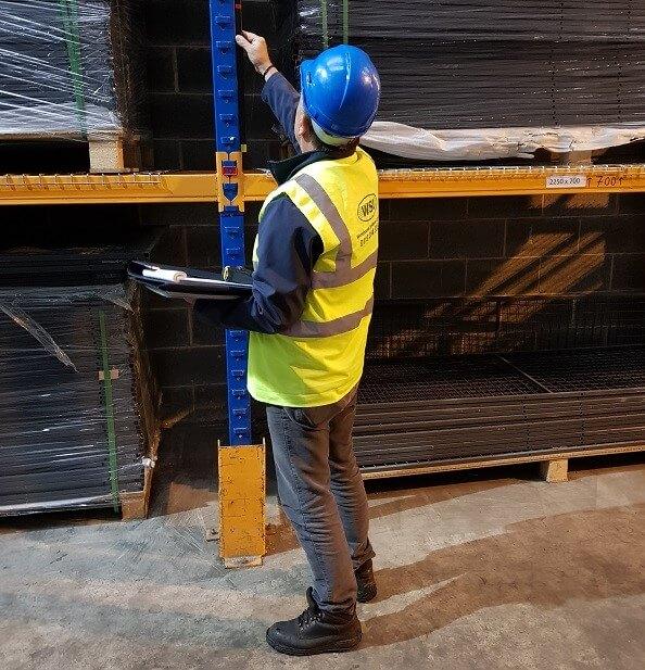 rack inspection image