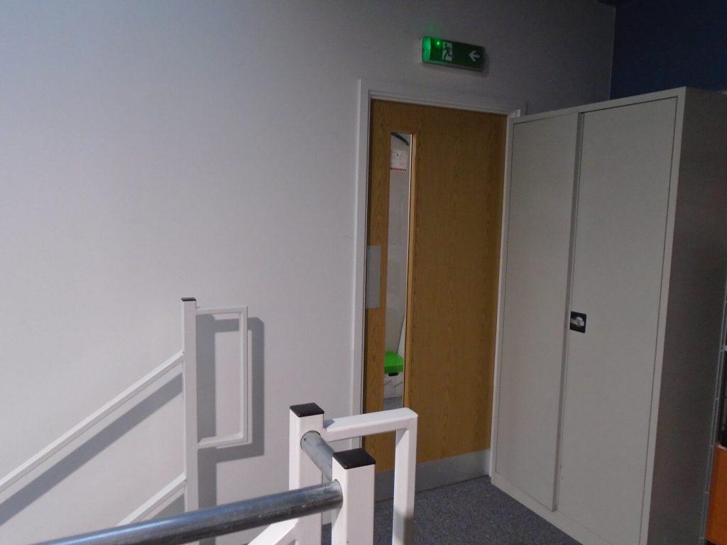 office mezzanine top floor