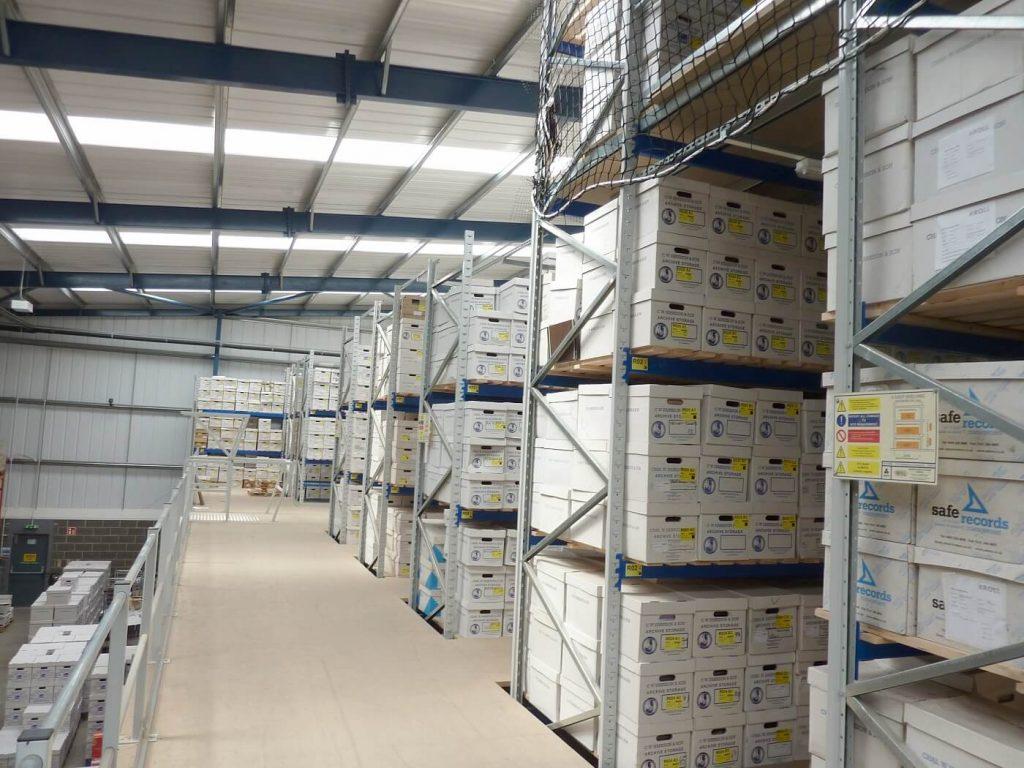 Archive heavy duty racking